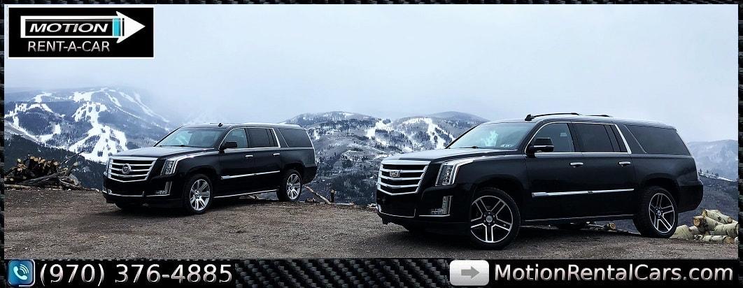 Cheap Car Rentals In Denver: Cadillac Escalade ESV Rental Car Denver Airport Vail Eagle