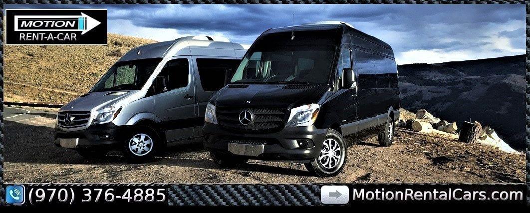 12 Passenger Mercedes Benz Sprinter Van Rental | Denver Airport | Vail |  Eagle Vail Airport | Aspen | Beaver Creek Colorado