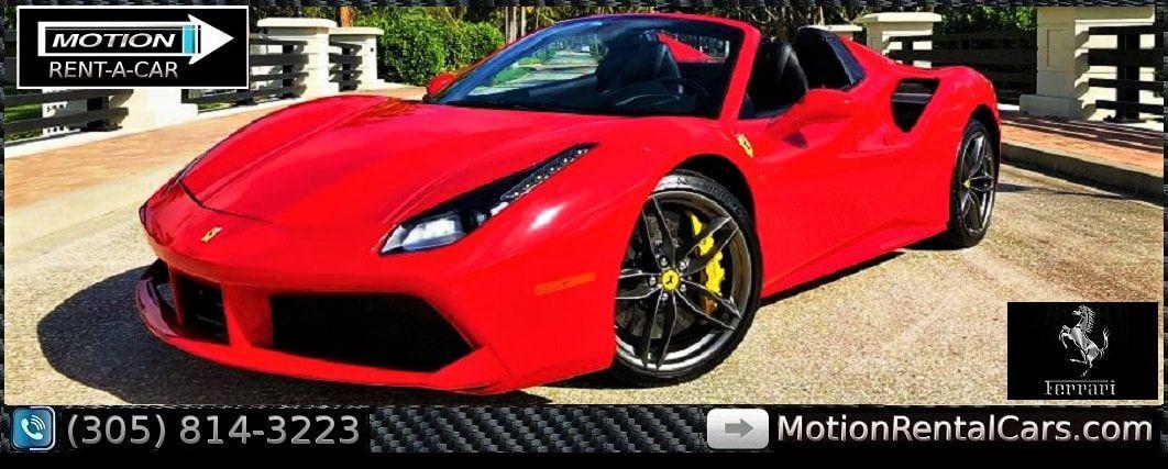 Ferrari Rental South Beach Miami Exotic Car Rental Ferrari Discount Cheap Price Miami Florida