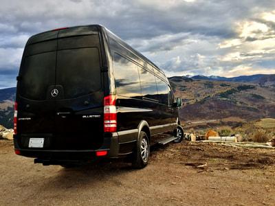 12 Passenger Mercedes Benz Sprinter Van Rental Denver