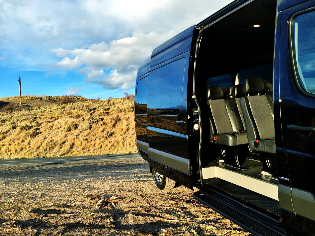 12 Passenger Mercedes Benz Sprinter Van Rental Denver